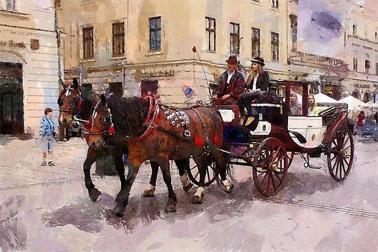 Krakow cab by bogfl