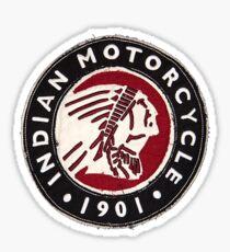 indian classic 4 Sticker