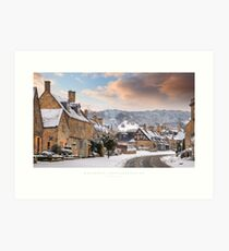 Broadway, Worcestershire Art Print