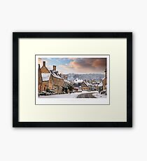 Broadway, Worcestershire Framed Print