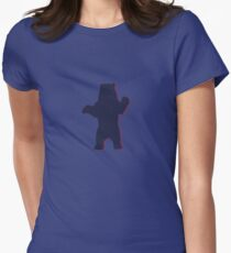 old bear Women's Fitted T-Shirt