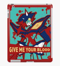 GIVE ME YOUR BLOOD (unboxed) iPad Case/Skin