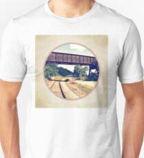 Railroad Tracks And Trestle Unisex T-Shirt