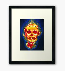 Day of the Dead Scarleta Framed Print