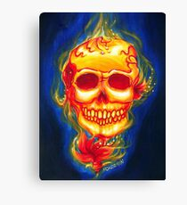 Day of the Dead Scarleta Canvas Print
