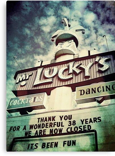 Mr. Lucky's by Jeff Clark