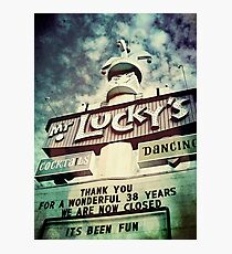 Mr. Lucky's Photographic Print