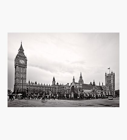 Big Ben and the Houses of Parliament - London - Britain Photographic Print