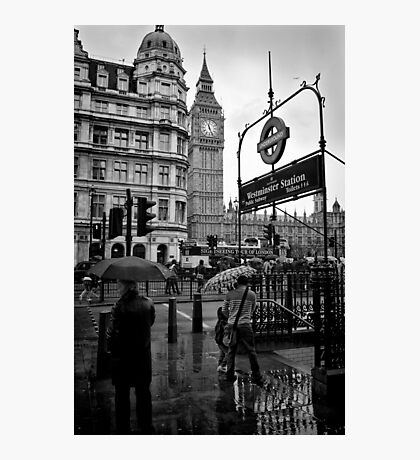 Westminster sight seeing - London - Britain Photographic Print