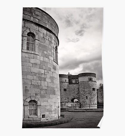 An imposing tower - London - Britain Poster