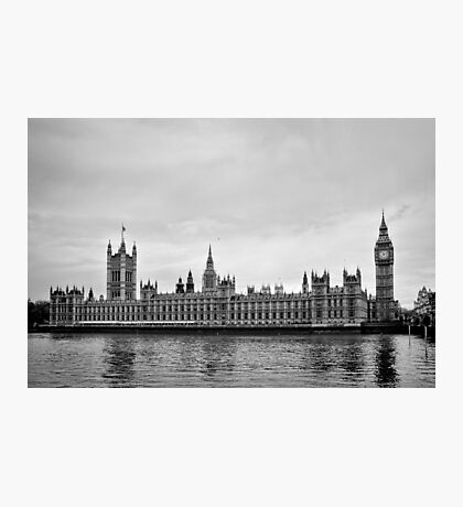 Houses with a view of the water - London - Britain Photographic Print