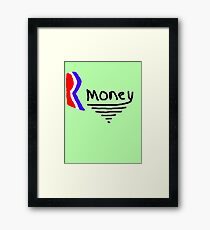 Mitt Romney also Rmoney  2012 Framed Print