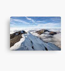 Schilthorn's Sea of Clouds Canvas Print