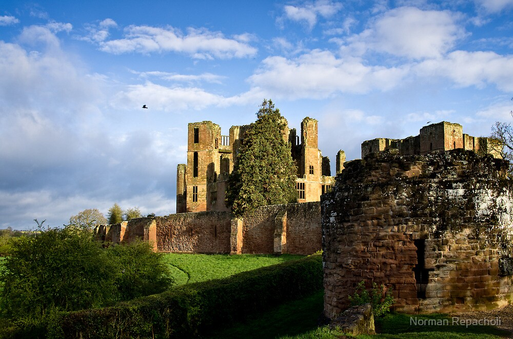 The Rook of Kenilworth Castle - Britain by Norman Repacholi