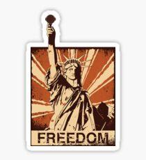 BARISTA FREEDOM! Sticker