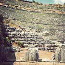 Ancient Amphitheater by distracted