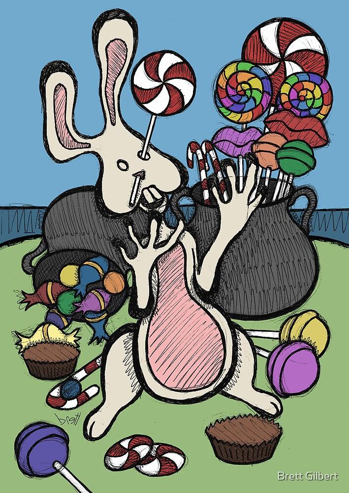 Teddy Bear And Bunny - Sugar Crash 2 by Brett Gilbert