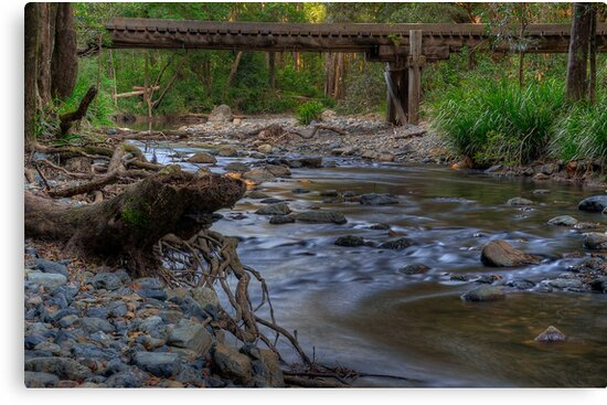 The Never Never Bridge. by Julie  White