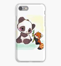 Cute Pandas  iPhone Case/Skin