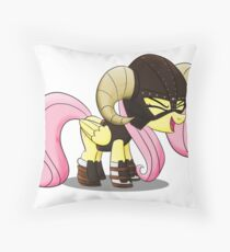 FUS RO yay (Fluttershy from My Little Pony: Friendship is Magic) Throw Pillow