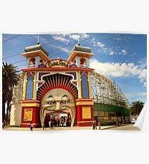 Luna Park Melbourne Poster