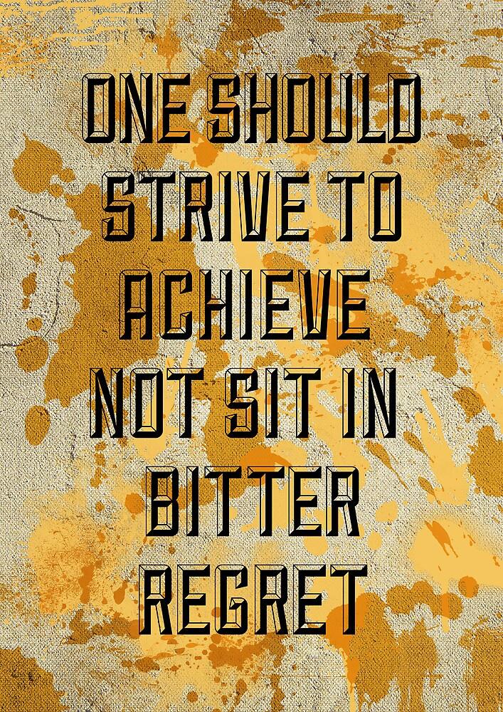 One Should Strive... by Mark Hyland