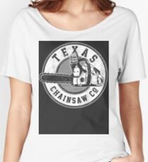 Texas Chain saw Massacre 'Texas Chain saw Company logo'  Women's Relaxed Fit T-Shirt
