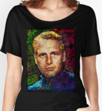 Paul Newman. Cool Cat On A Hot Tin Roof. Women's Relaxed Fit T-Shirt