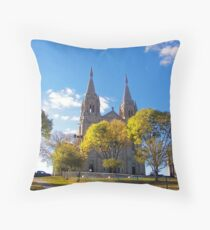 Hope on the Hill Throw Pillow
