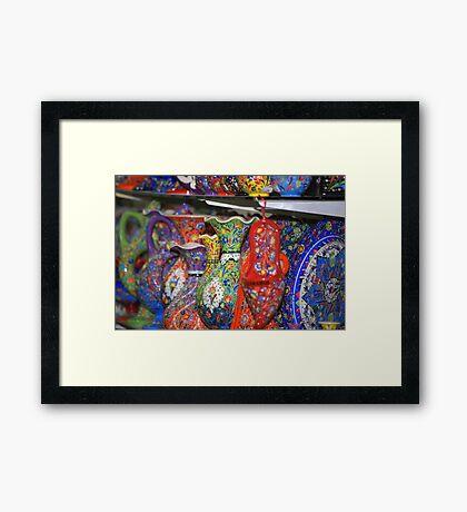 Grand Bazar, Istanbul Framed Print