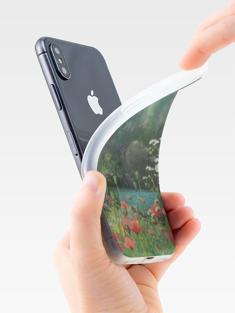 Alternative Ansicht von Ghibli Hintergrund iPhone-Hüllen & Cover