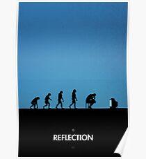99 Steps of Progress - Reflection Poster