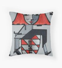 Robotic Glamour Throw Pillow
