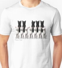 Piano Cats Tee Unisex T-Shirt