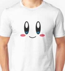 Kirby Face Slim Fit T-Shirt