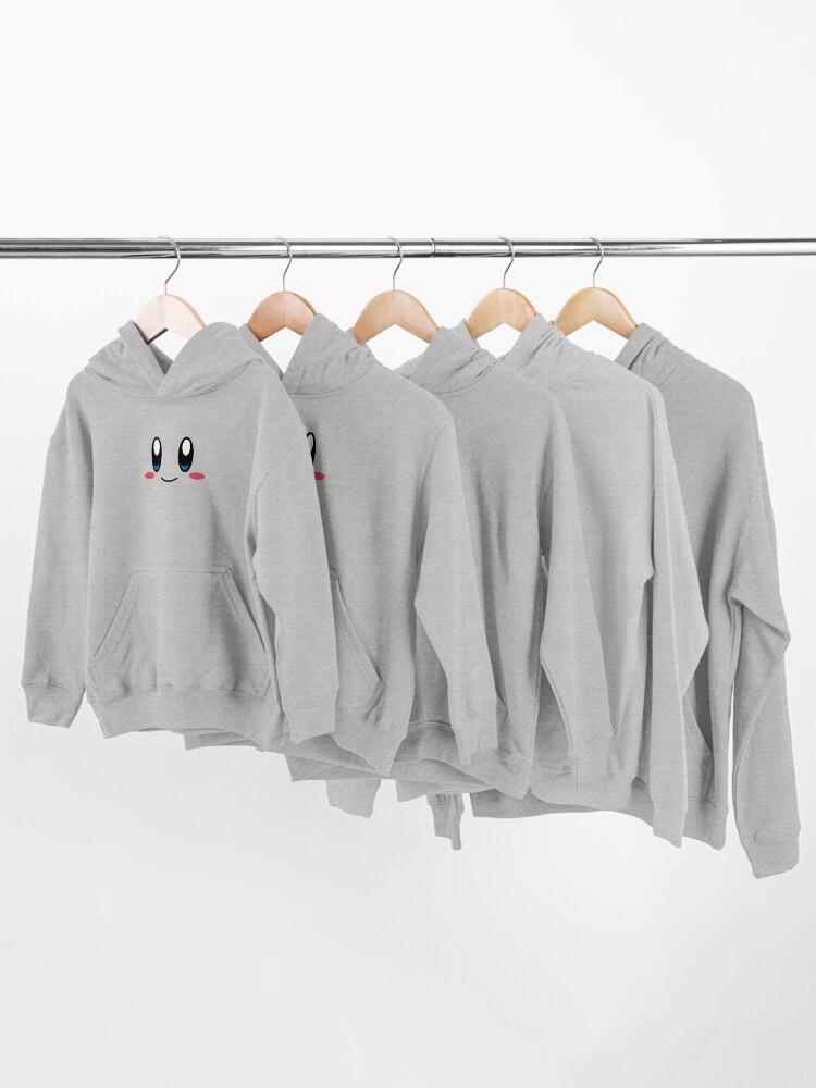 Vista alternativa de Sudadera con capucha para niños Cara de Kirby