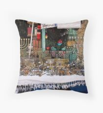 Judaica Throw Pillow