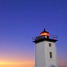 Wood End Lighthouse Cape Cod star trails by Matt Suess