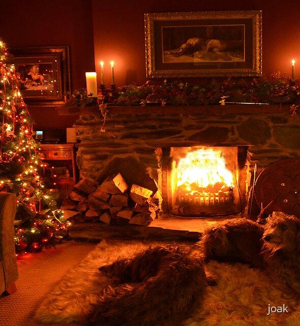 christmas in ma wee room by joak