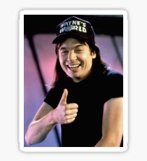 Wayne's World Wayne Campbell Sticker