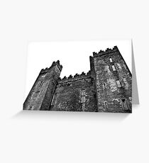 Ireland in Mono: Secrets On A Silver Tray Greeting Card