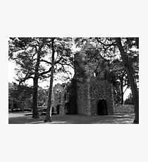 Peebles Cross Kirk Photographic Print