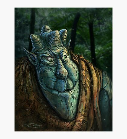 Forest Dude Photographic Print