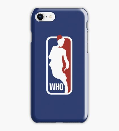 WHO Sport No.11 iPhone Case/Skin