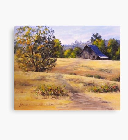 Edge of Autumn Canvas Print