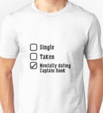 Mentally Dating Captain Hook Unisex T-Shirt