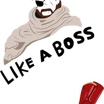 Like a Boss by Spark-Of-Raziel