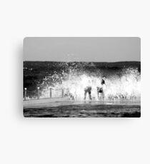 Ocean pool Canvas Print