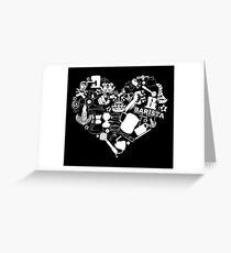 Barista Love Greeting Card