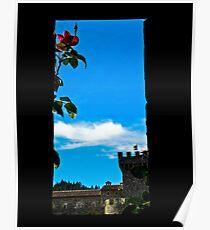 A Different View Castello di Amorosa Poster